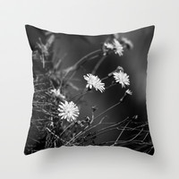 Night Song Throw Pillow by Ia Loredana