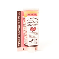 Strawberry Shortcake - All Natural Lip Balm Jelly