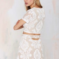 Mariana Embroidered Skirt