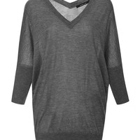 Silk and Cashmere Batwing Sweater