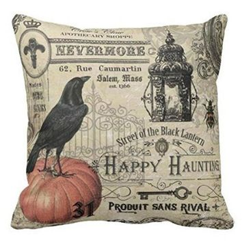 Halloween Pillows Cover Decor Pillow Case Sofa