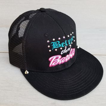 Better Than Barbie Embroidered Cap
