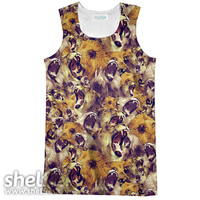 Vehement Lions Racerback Tank Top
