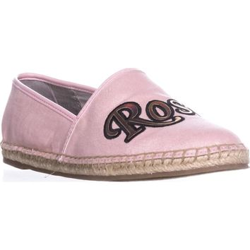 Circus by Sam Edelman Leni8 Espadrille Slip On Flats, Rose All day, 9.5 US / 39.5 EU