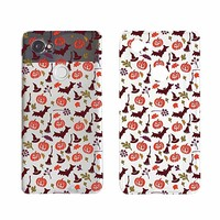 Pumpkin Bat Pattern Halloween Phone Case For Google Phone Pixel 2 Google Phone Covers Emerishop (Google Pixel 2)