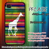 Giraffe on aztec For Iphone 44s 5 Samsung S2S3S4 by pfcases12 on Zibbet