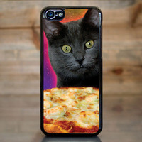 Galaxy Cat Pizza Pie Obsession Case for Apple iPhone 5c