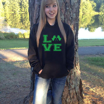LOVE Color Winter Guard Hoodie Sweatshirt S M L XL Unisex Hoody Hooded sweater More COLORS Available