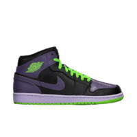 Air Jordan 1 Retro Men's Shoe, by Nike Size 11 (Black)