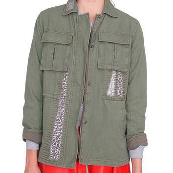 Jungle Combat Jacket - Olive