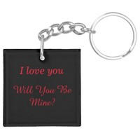 Personalize I love you, Will You Be Mine?
