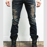 "Men's ""Altitude"" Skinny Distressed Jeans"