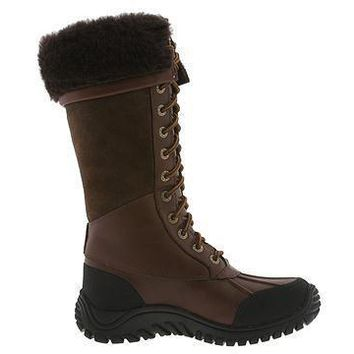 LFMON UGG 5498 Tall Women Men Fashion Casual Wool Winter Snow Boots Chcolate