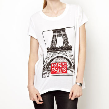 Eleven Paris Eiffel Tower Tee