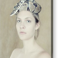 Portrait With The Snake Acrylic Print