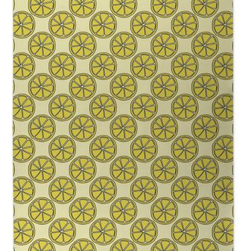 LEMON SLICES PATTERN Indoor|Outdoor Floormat By Northern Whimsy