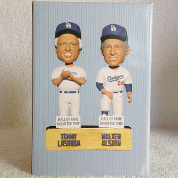 Tommy Lasorda Walter Alston Bobblehead