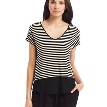 Kenneth Cole New York Mika Jersey Knit Top