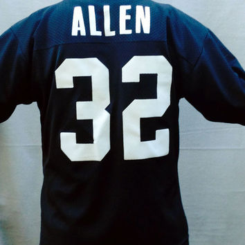 Vintage Football Jersey, Football, Marcus Allen Jersey,  Los Angeles Raiders, NFL, Logo 7, Size Adult Large