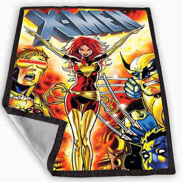 X Men Comic Blanket for Kids Blanket, Fleece Blanket Cute and Awesome Blanket for your bedding, Blanket fleece *