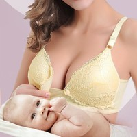 New Pregnant Women Lace Cotton Underwear Maternity Nursing Bra anti sagging Breastfeeding Bra pregnant bra breast feeding bra