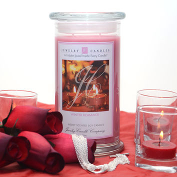 Winter Romance Jewelry Candle