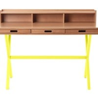 Hyppolite Desk - Yellow -5%