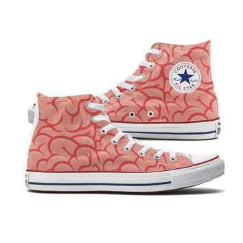 Brains Converse High Tops