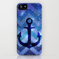 NEW GALAXY ***ANCHOR PARTY CHEVRON III *** iPhone Case by M✿nika  Strigel	 | Society6 for iphone 5 + 4S + 4 + 3G + 3 GS + ipod touch skin **