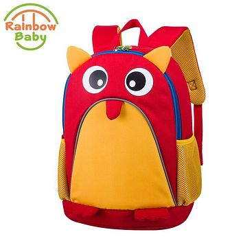 Rainbow Baby Adorkable owl Kids Babys Bags Wearable Breathable Ultra-Light Waterproof Child's Snack toys Backpack School Bags