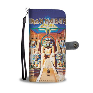 KUYOU Iron Maiden Powerslave Wallet Phone Case