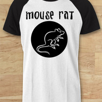 Andy Dwyer Parks and Recreation Shirt Mouse Raglan Tee - SWD Raglan Tees  / Custom - Raglan / Baseball T-Shirt
