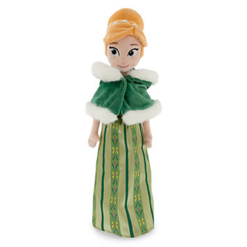Anna Plush Doll - Frozen - Holiday - Medium - 21''