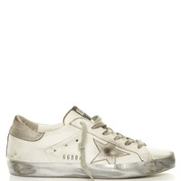 Super Star Sparkle low-top leather trainers | Golden Goose Deluxe Brand | MATCHESFASHION.COM US