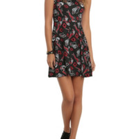 DC Comics Harleen Harley Quinn Print Dress