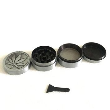 4 Layers Mental Herb Grinder-  Weed Crusher & Grinder