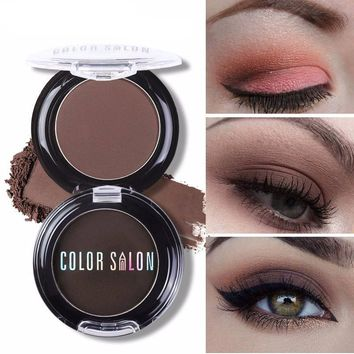 18 Colors Pigment Natural Matte Eyeshadow Palette