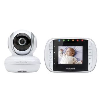 Infant Motorola MBP 33S Wireless Digital Video Baby Monitor