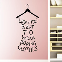 Clothes Wall Stickers