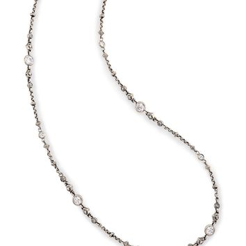 Dree Long Necklace in Antique Silver | Kendra Scott