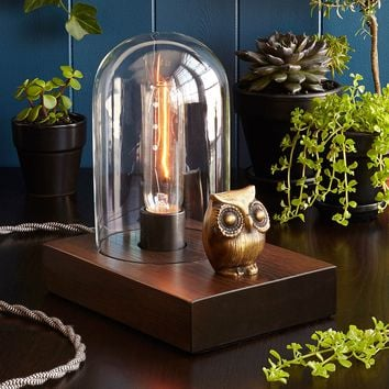 Mr. Owl Touch Lamp | vintage lamp