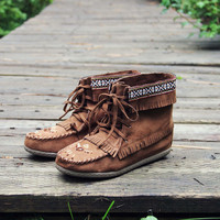 Snohomish Beaded Moccasin