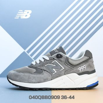 """NEW BALANCE"" NB999 Women Classic Retro Air-permeable Mesh Fashion Leisure Running Shoes"
