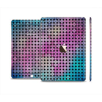 The Vibrant Colored Abstract Cells Skin Set for the Apple iPad Air 2