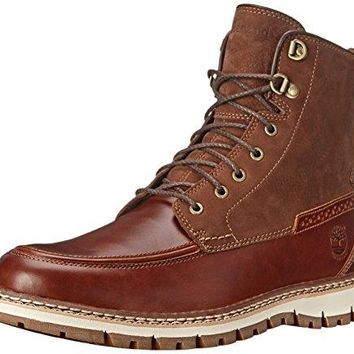 Timberland Men's Britton Hill Moc-Toe Waterproof Boot timberland boots for men  timberland boots for men