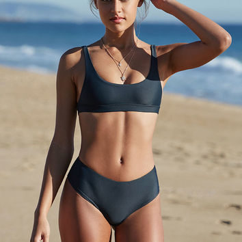 Stone Fox Coco Cropped Bikini Top at PacSun.com