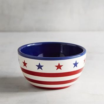 Stars and Stripes Dip Bowl