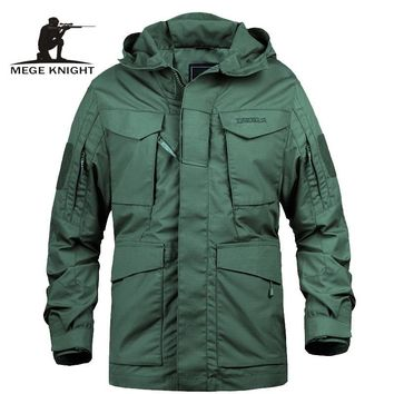 Trendy Mege Brand M65 Military Camouflage Male clothing US Army Tactical Men's Windbreaker Hoodie Field Jacket Outwear casaco masculino AT_94_13
