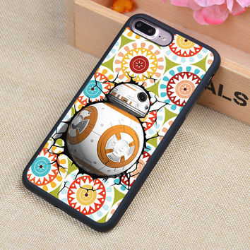 BB8 STAR WARS R2D2 DARTH VADER Style Soft Rubber Phone Cases For iPhone 6 6S Plus 7 7 Plus 5 5S 5C SE 4 4S Back Cover Skin Shell