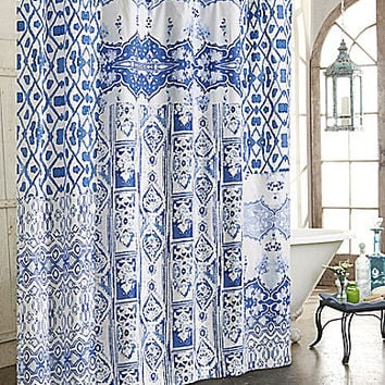 "Poetic Wanderlust by Tracy Porter 72x72"" Ambrette Shower Curtain 